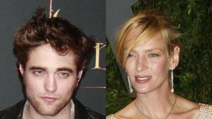 Pattinson y Thurman