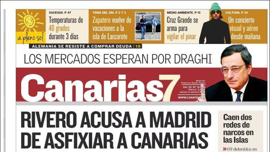 De las portadas del día (02/08/2012) #2