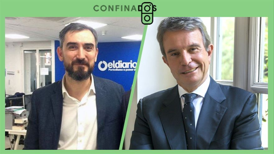 Antonio Catalán charla este miércoles con Ignacio Escolar