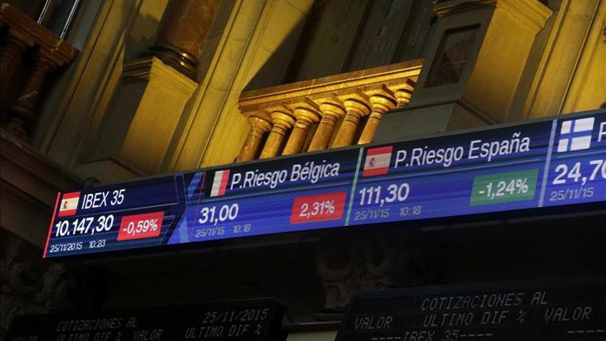 El IBEX 35 abre en negativo y cae el 0,22 por ciento