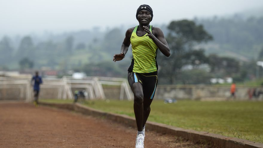 Rose Nathike, 23 años. Huyó de Sudán del Sur a Luxemburgo . Se prepara para participar como atleta en el Equipo de Refugiados de los JJOO de Río2016 | FOTO: Acnur