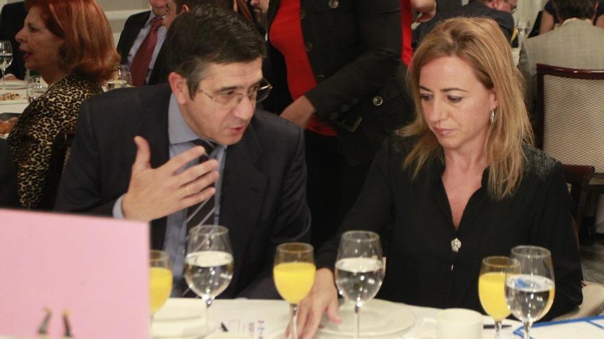 """Patxi López no está a favor de suspender un partido si se pita el himno, porque sería """"alimentar a los que pitan"""""""