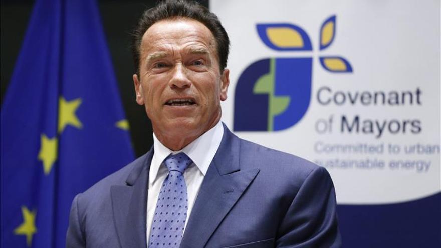"""Schwarzenegger, primer """"embajador"""" de Madrid por su promoción de la ciudad"""