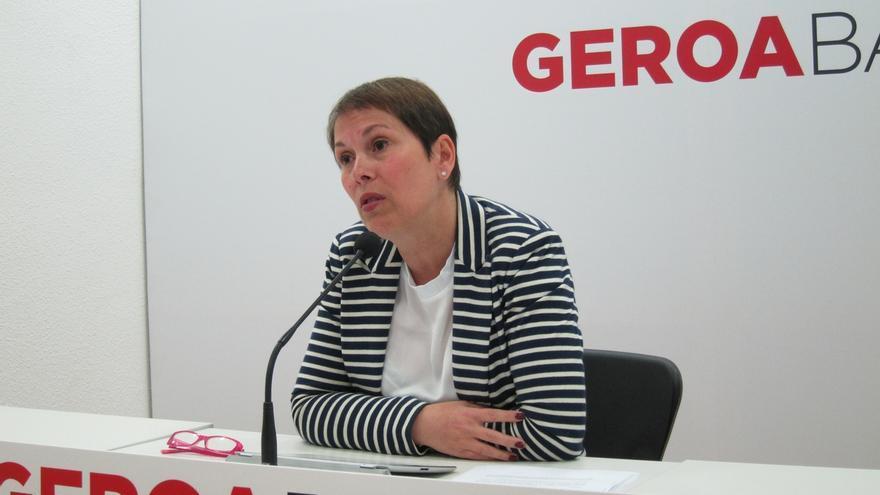 Las candidatas de Geroa Bai Uxue Barkos e Itziar Gómez serán presentadas en un acto político el 16 de noviembre