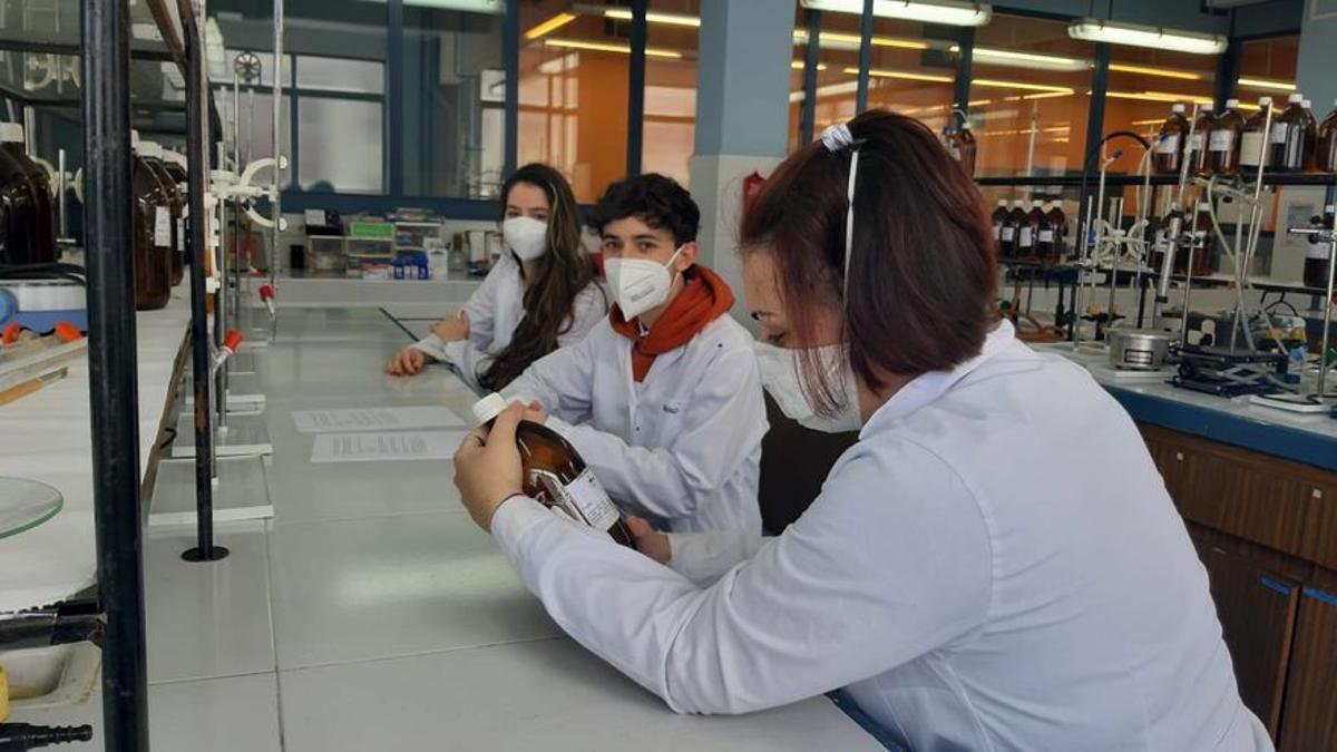 Alumnos de FP en la vuelta al cole de mayo tras el confinamiento por el coronavirus