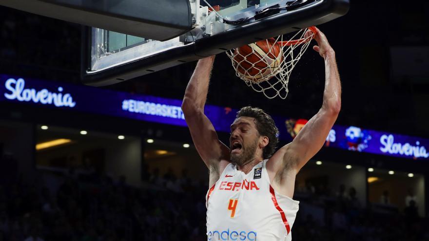 Pau Gasol en el Eurobasket