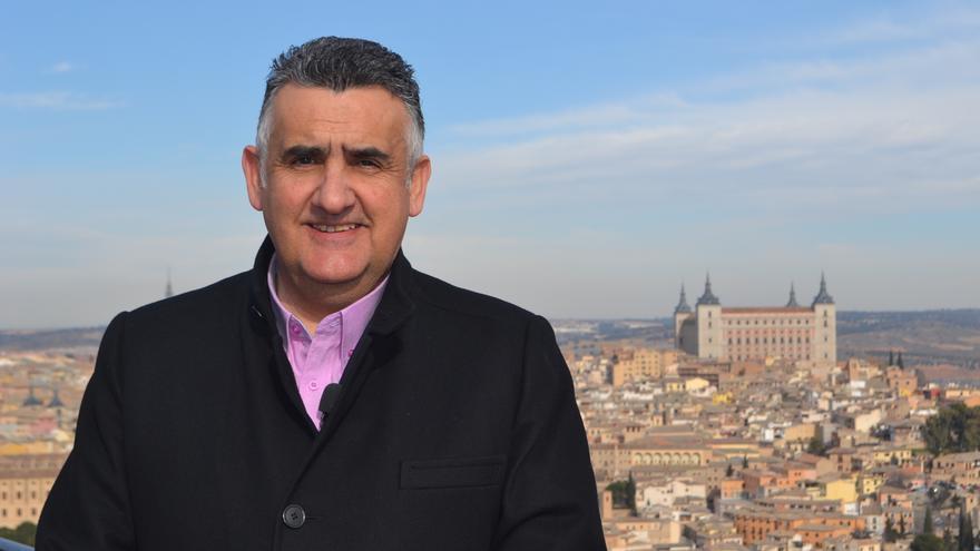 Roberto Martín, presidente del Colegio Oficial de Enfermería de Toledo