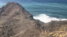 Playa de Faneroque, Agaete.