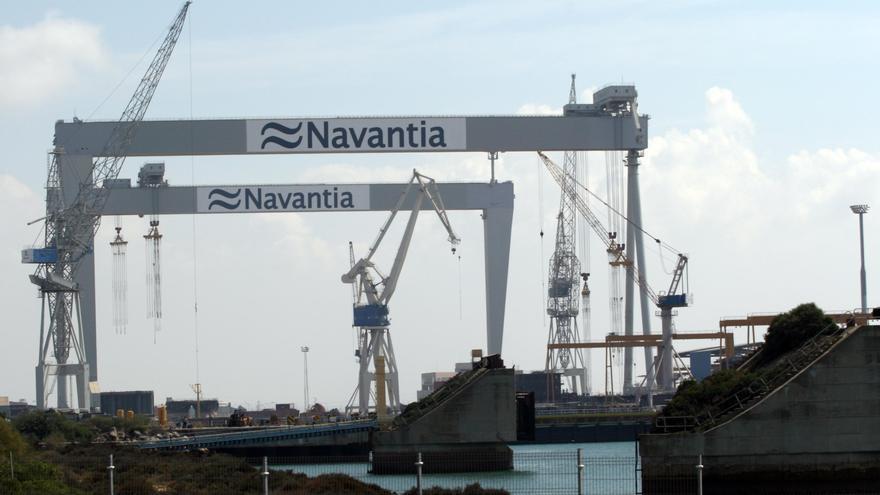 """Navantia reconoce dificultades para """"encontrar fórmulas de financiación viables"""" para el dique flotante"""