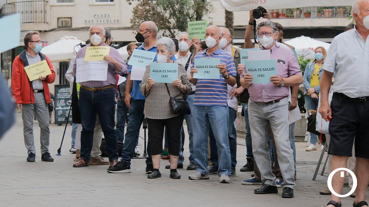 Concentración del Consejo del Movimiento Ciudadano y la Federación de Asociaciones Vecinales Al-Zahara
