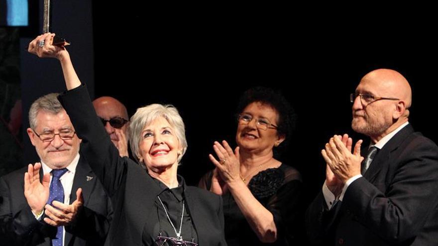 El Festival de Almagro le regala a Concha Velasco su admiración y respeto