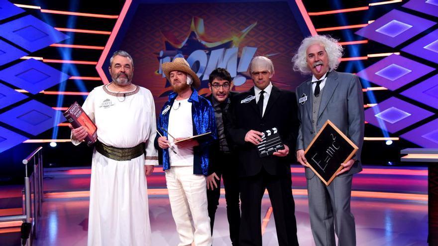 """Juanra Bonet con los Lobos de """"¡Boom!"""""""
