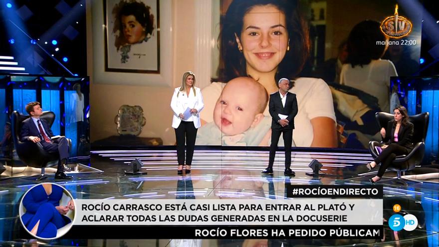 Carlota Corredera desveló el motivo por el que 'Sálvame' nunca habló del maltrato de Rocío Flores a su madre