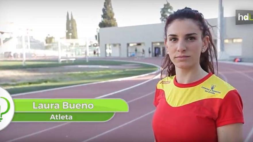 Laura Bueno, la atleta granadina