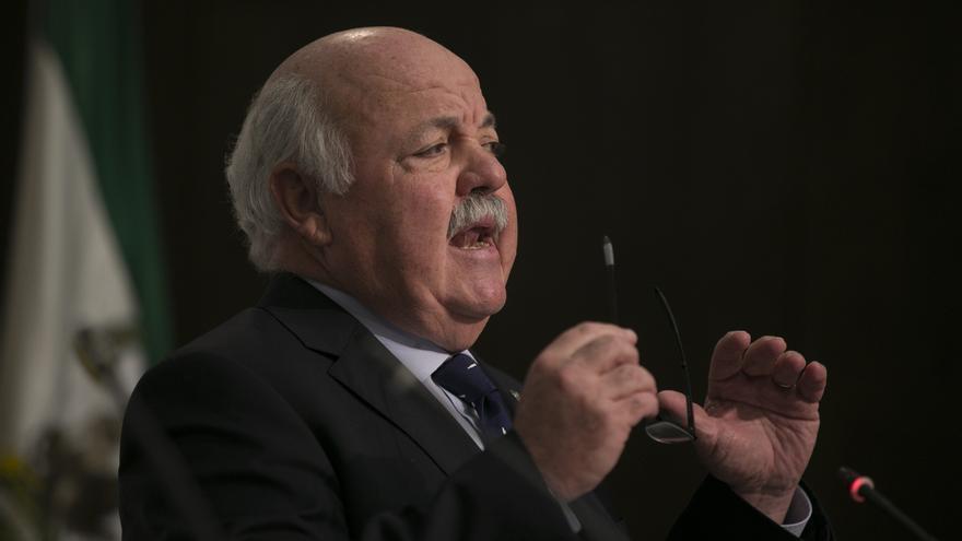 Jesús Aguirre, consejero andaluz de Salud y Familias