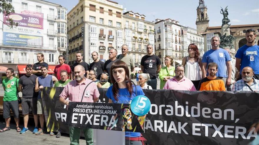 Convocan una manifestación a favor de los presos en fiestas de Vitoria