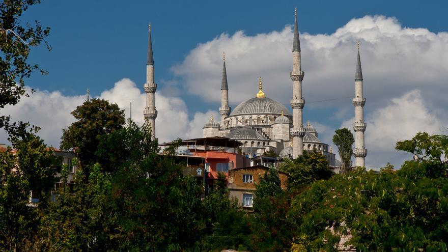 La Mezquita Azul, uno de los edificios más impresionantes de Estambul.