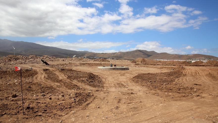 Evolución de las obras en uno de los parques sobre los parques afectados por el expediente denunciado.