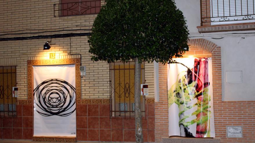 El arte en las cortinas de 'De Puerta en Puerta'