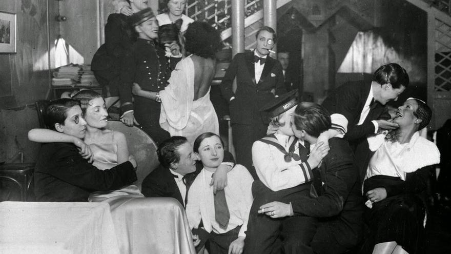 Cabaret 'Le Monocle', 1930 | Albert Harlingue