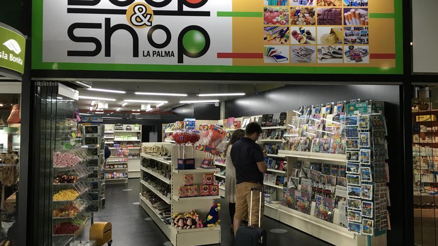 Nueva tienda del Aeropuerto de La Palma.