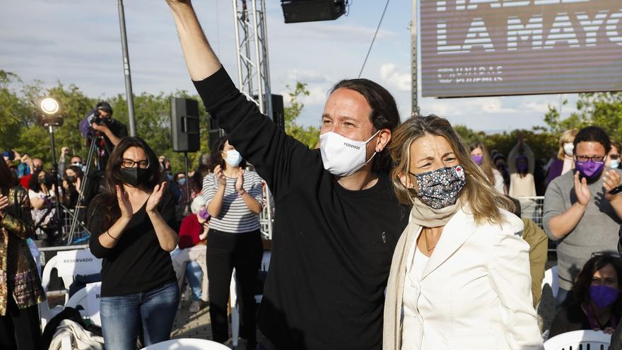 Iglesias acusa al PP de banalizar el fascismo, la mayor amenaza del siglo XX