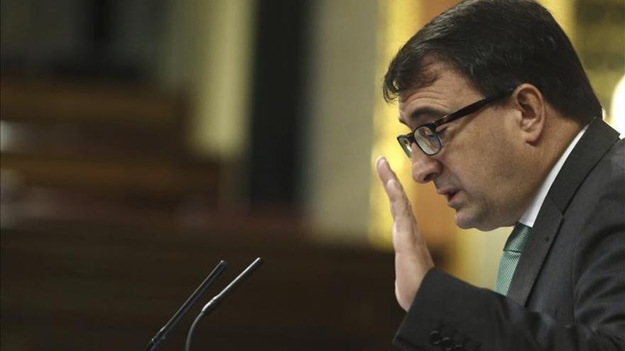 El PNV apoya que se elimine el objetivo de déficit cero de la Constitución