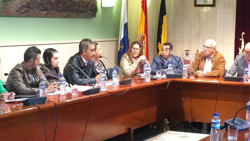 Pleno del Ayuntamiento de La Oliva