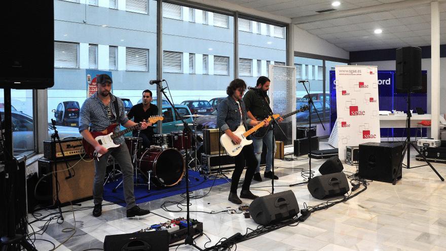 Stock durante la celebración del I Concurso de Bandas de Movember Food & Rock. | MARTA GARCÍA