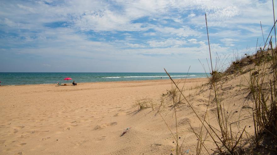 Playa de El Mareny de Sant Llorenç, en Cullera