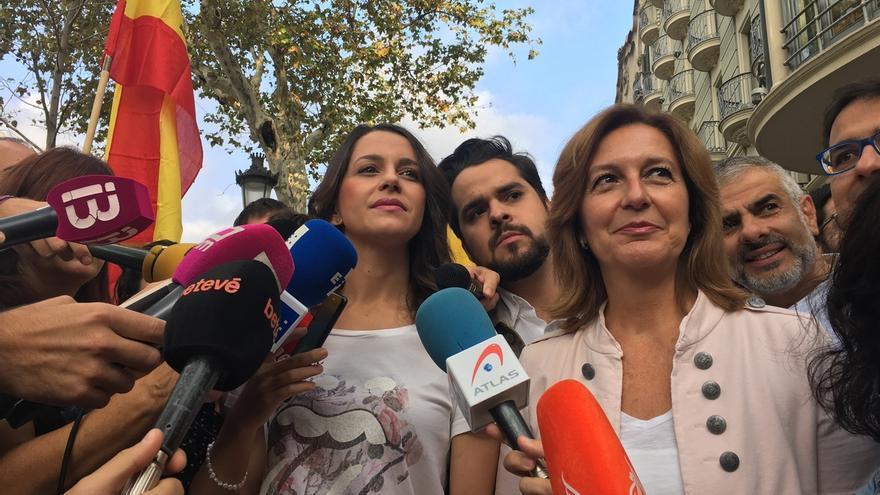 """Arrimadas (Cs): """"Puigdemont tiene cinco días para rectificar y poner las urnas de verdad"""""""