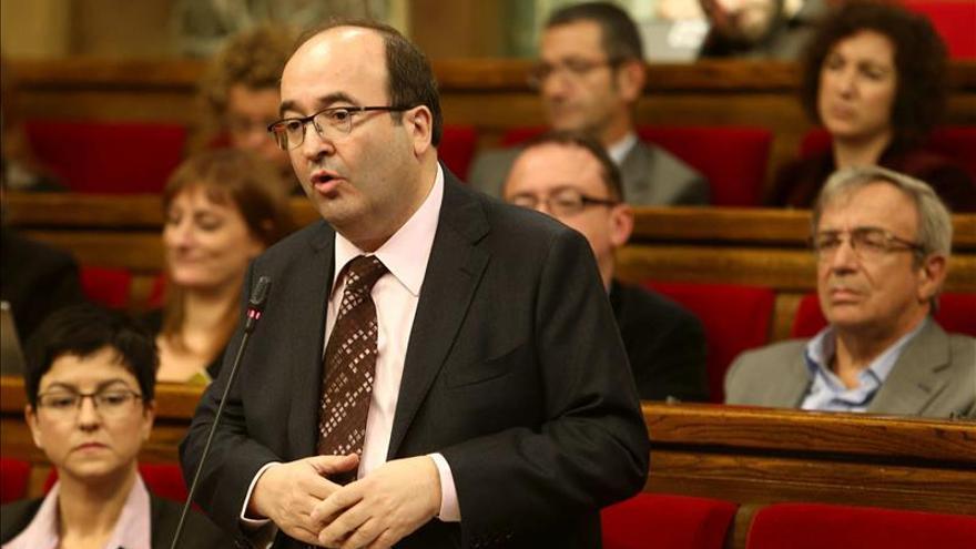 """Iceta celebra el anuncio de Rajoy y ve """"difícil"""" que Mas abandone su hoja de ruta"""
