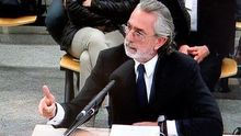 Correa durante uno de los interrogatorios en el juicio que se celebra en San Fernando de Henares.