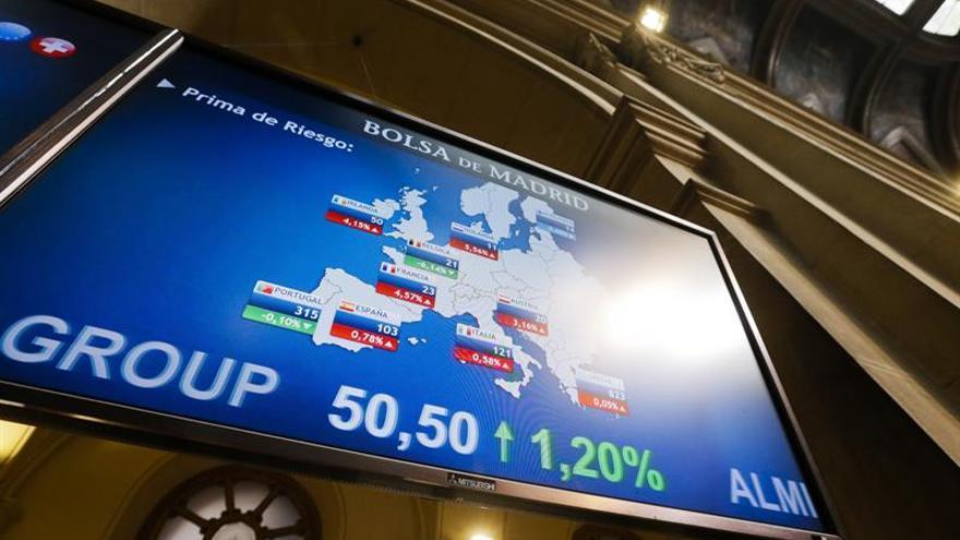 La prima de riesgo de España abre sin cambios en 112 puntos básicos