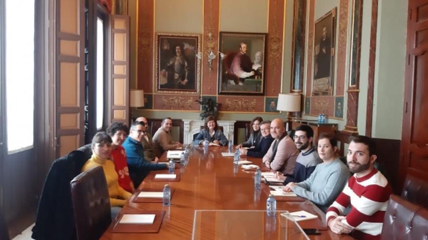 Reunión con colectivos LGTBI de Ciudad Real