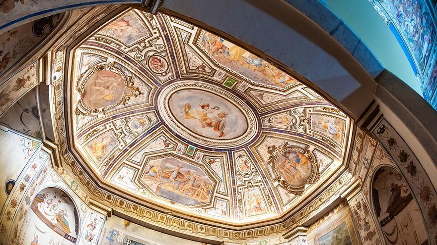 Rómulo Cinciato. Conjunto de pinturas al fresco (1578-1580) Museo de Guadalajara