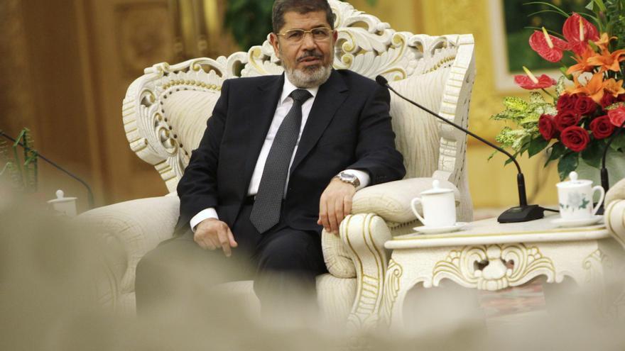 Mursi llega a Irán en la primera visita de un presidente egipcio en décadas
