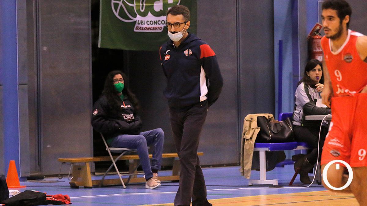 Pablo Orozco, en un partido del Folder Maristas.