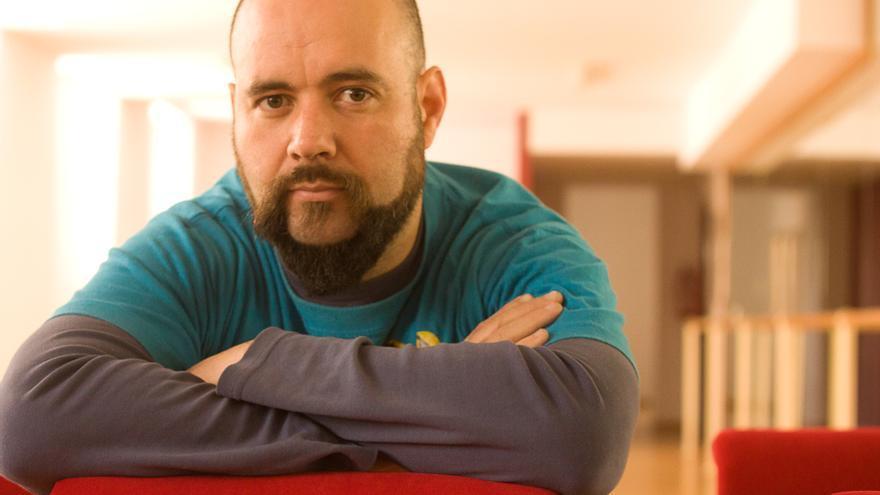 """José Bornás, director de la pieza """"Neva"""" / E. R."""