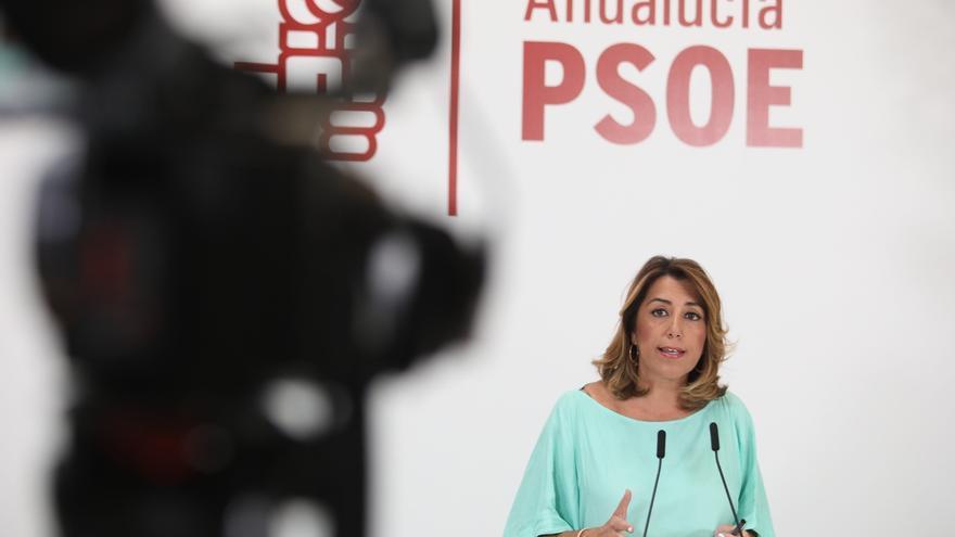 """Susana Díaz lamenta los """"pasos atrás"""" de la Junta para el """"bienestar y la igualdad"""" de los andaluces"""
