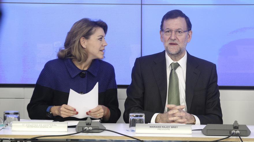 Cospedal dice que todas las facturas relativas a la obra de 'Génova' están en la contabilidad oficial del PP