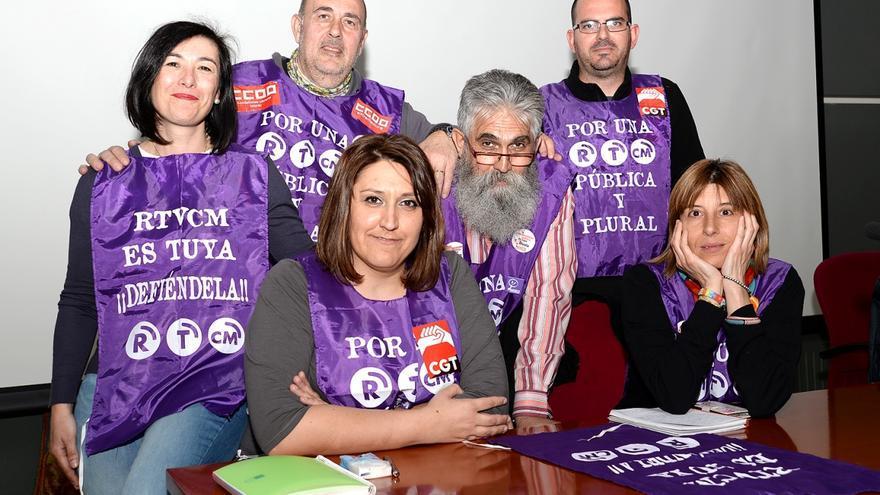 Mesa redonda de Comisiones Obreras y el comité de empresa de RTVCM en Cuenca