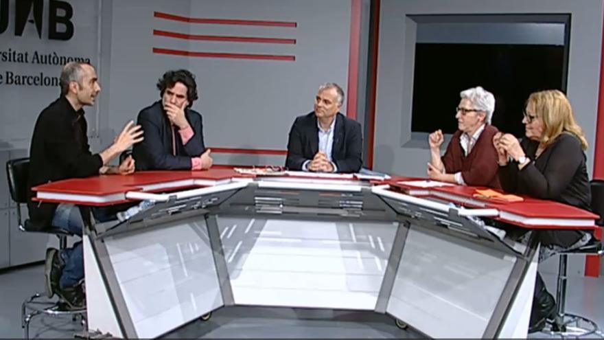 Els quatre participants en el programa van considerar que els límits de l'humor s'han d'eixamplar i no reduir
