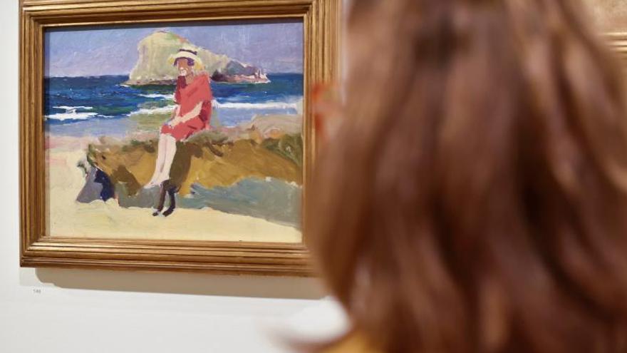 Sorolla en el Bellas Artes de Bilbao: Exquisitos bocados de pintura en miniatura