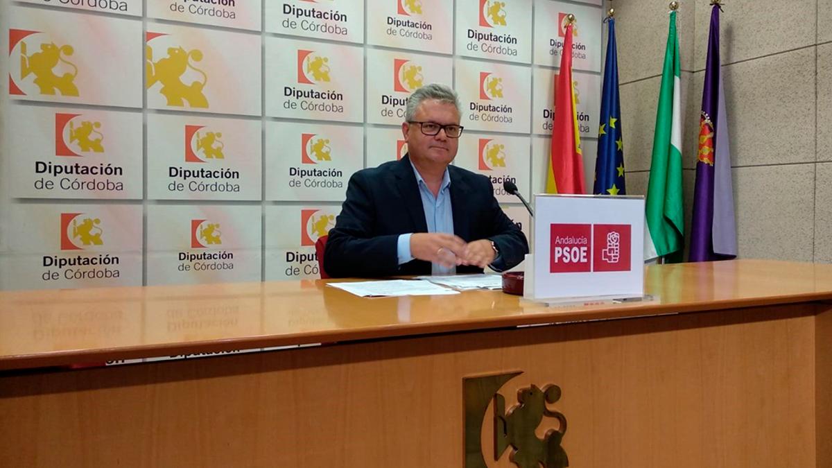 El portavoz del PSOE en la Diputación de Córdoba, Esteban Morales.