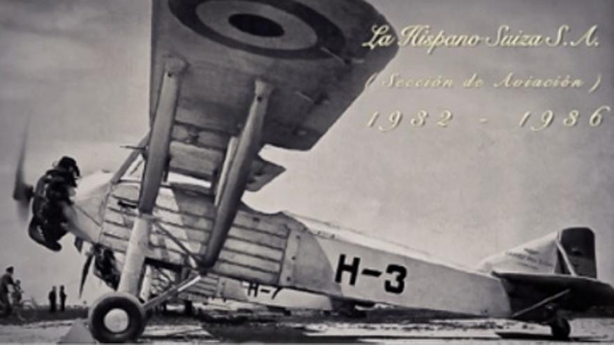 La fabricación de piezas para aviones fue uno de los cometidos de 'La Hispano'