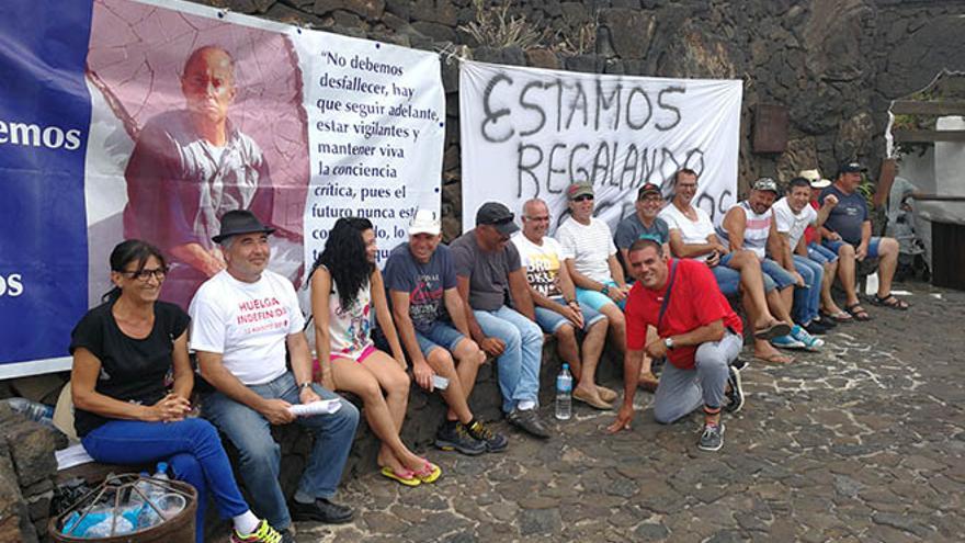 Huelga de los trabajadores turísticos.