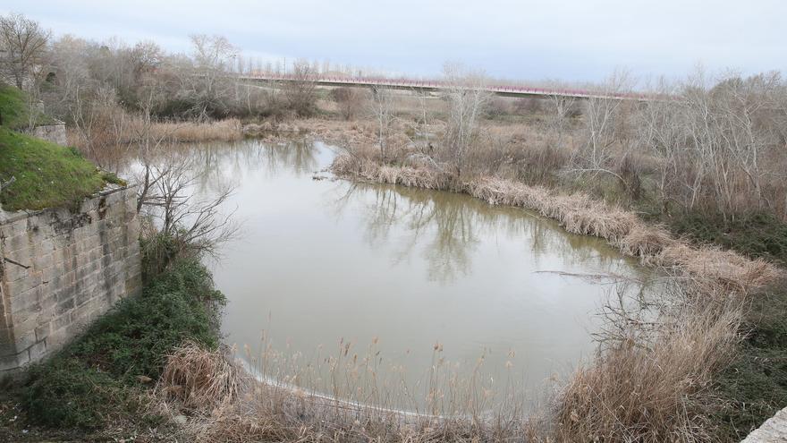 Vista del río Tajo en la provincia de Toledo, febrero 2016