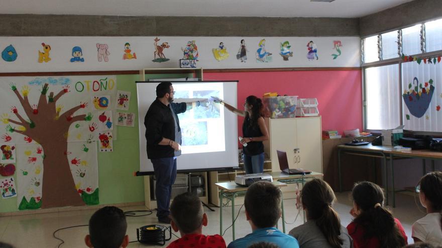 Este jueves comenzó la segunda edición del proyecto 'Cuida tu mar' con charlas  a escolares de varios cursos del Colegio Gabriel Duque Acosta de la capital.