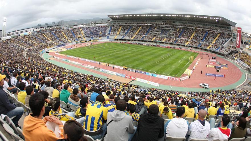 Imagen del Estadio de Gran Canaria. udlaspalmas.es